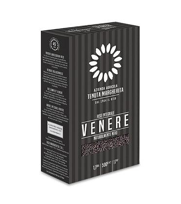 Stone Ground - Natural Black Venere Rice  - Vacuum Pack 500g