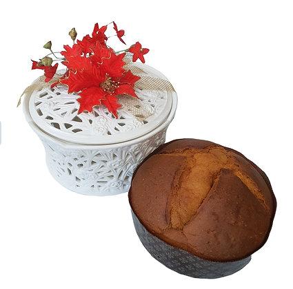 Panettone Margherita 1kg in Luxury Ceramic Box