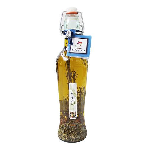 Extra Virgin Olive Oil & Seafood Spices Elegant Bottle 500ml