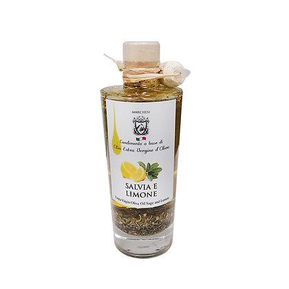 Extra Virgin Olive Oil with Sage & Lemon 200ml