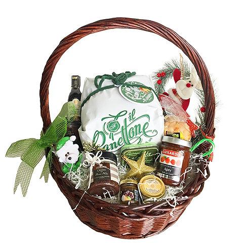 Rustic Gourmet Food Gift Box Hamper