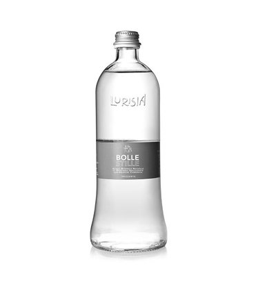 Lurisia Sparkling Mineral Spring Water Glass Bottle - 500 ml Pack of 12
