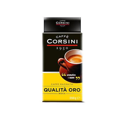 Italian Coffee Corsini Quality Gold 250gr - Ground Aromatic & Sweet