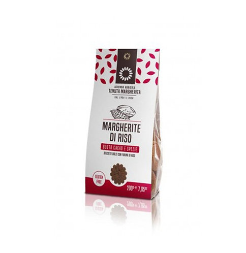 RICE MARGHERITA COCOA & SPICES BISCUITS 200gr