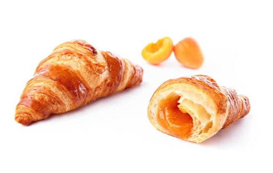 Butter Croissant Filled with Apricot - 35gr x 60pcs