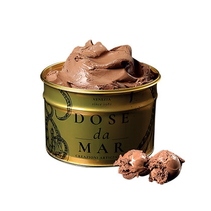 Dose da Mar - Chocolate Italian Premium Gelato 1.8kg Luxury Tin