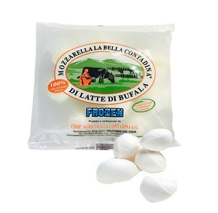 100% Buffalo Milk Italian Mozzarella 50gr x 4 pcs - 200gr , 1 Bag