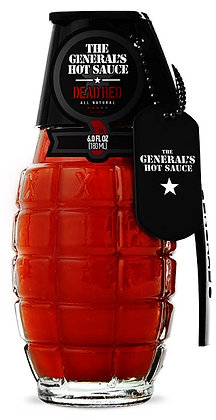 THE GENERAL'S HOT SAUCE DEAD RED - 180 ml