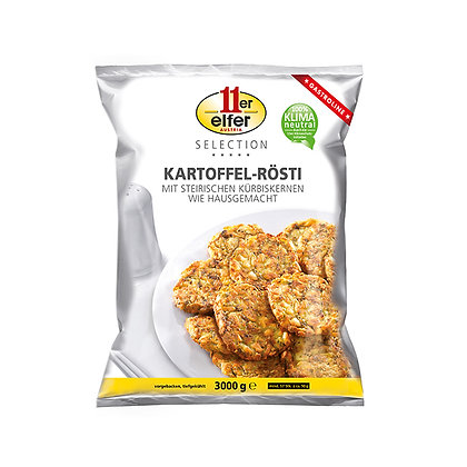 Potato Rosti with Styrian Pumpkin Seeds, Home Made Style - 3kg