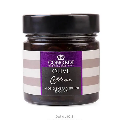 Italian Olives Celline in Extra Virgin Olive Oil