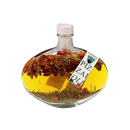 Extra Virgin Olive Oil with Chilli Pepper & Rosemary for Pizza 100ml