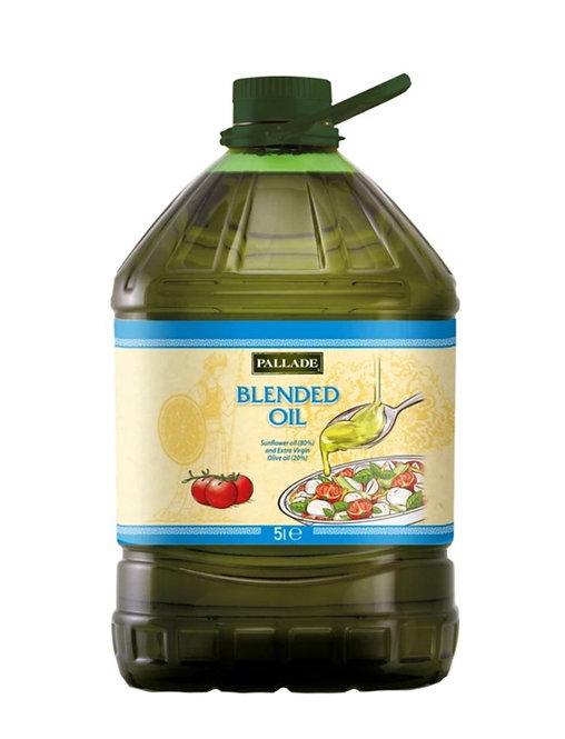 Extra Virgin Olive Oil  20% -  Blend with Sunflower Oil - 5 Ltr Pet