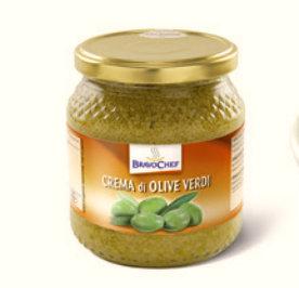 GREEN OLIVES PATE' 550gr.