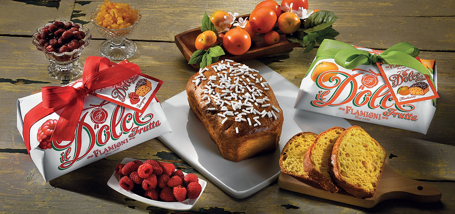 Soft Brioche Cake With Mandarin Candied Fruits - 350gr