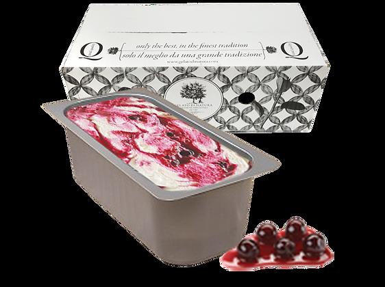 Black Cherry Cream Italian Gelato - 5lt
