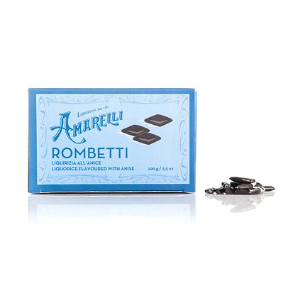 Rombetti Liquorice Flavored with Anise - Amarelli 100mg