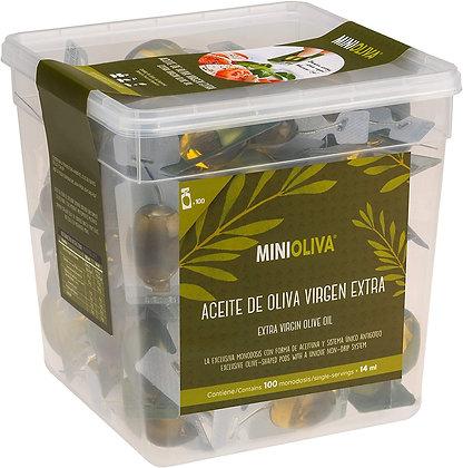Alcala' Extra Virgin Spanish Olive Oil - Monodoses - 100 pcs