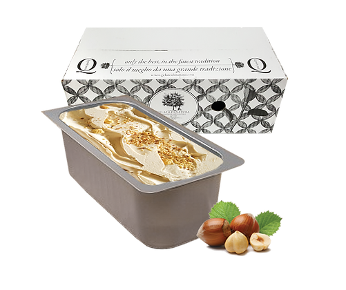 Hazelnut Premium Italian Gelato Ice Cream - 5lt