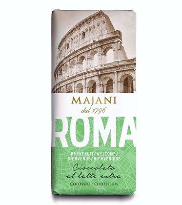 Roma - Milk Chocolate Bar by MAJANI 1796 - 100gr