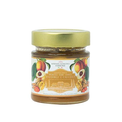 Premium Jam Peaches, Walnuts & Cinnamon 200gr