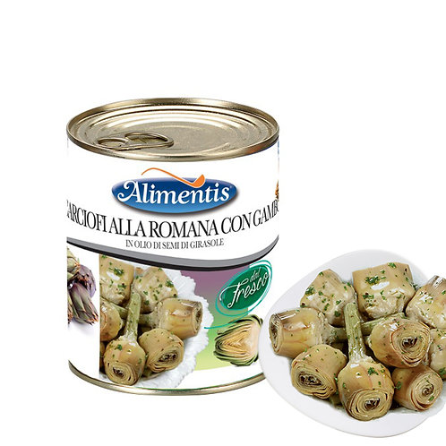 "Long Stem Artichokes ""Romana"" - ALIMENTIS - 3.1kg"
