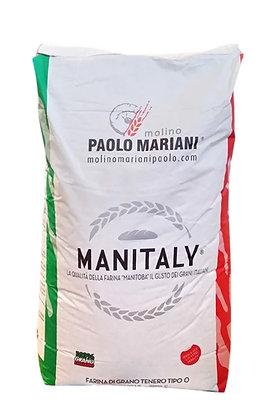 """Wheat Flour Type """"0"""" Manitaly - Paolo Mariani - 1 kg"""