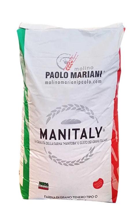 Wheat Flour Type '0' Manitaly - Paolo Mariani - 25 kg