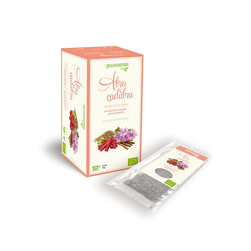 Abracadabra herb tea with hubarb, mallow and fennel - 15x3gr bags