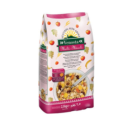 Multi Fruit Muesli with Honey  Venosta - 1kg