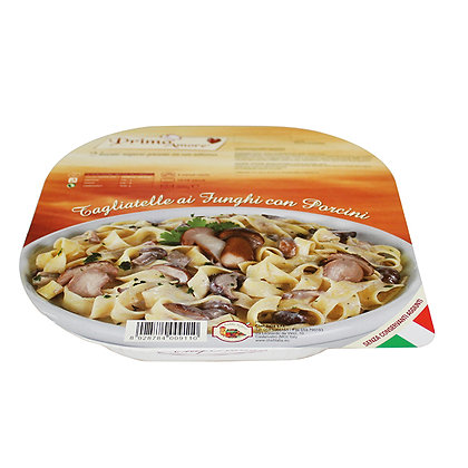 Italian Pasta Monoportion Tagliatelle with Porcini Mushrooms - 300gr