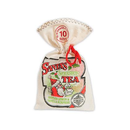 Santa Workshop Tea in fancy wrapping 20gr