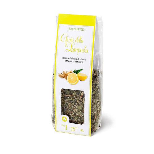 Fruit herbal tea withlemon and ginger - 100gr