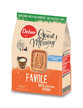 FAVOLE Biscuits with Sugar Grain  - Italian Master bakery 600gr.