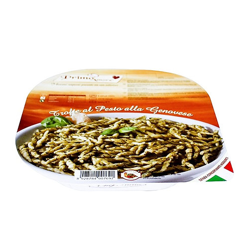 Italian Pasta TROFIE Monoportion with Pesto Sauce alla Genovese - 300gr