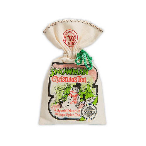 Snowman Christmas Tea in fancy wrapping 20gr
