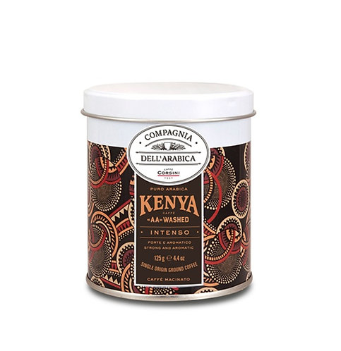 Kenya Intense AA Washed Pure Arabica Ground Coffee - 125gr Tin
