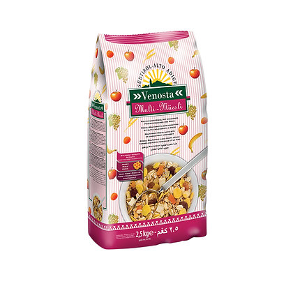 Multi Fruit Muesli with Fruit & Honey - 1kg