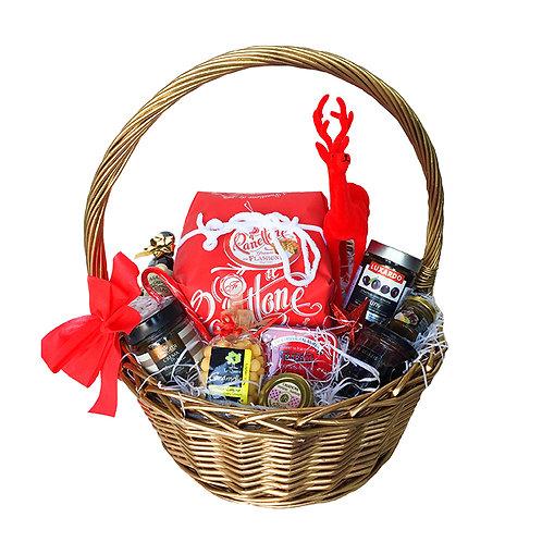 Hamper Santa Basket Italian Gourmet Gift Box
