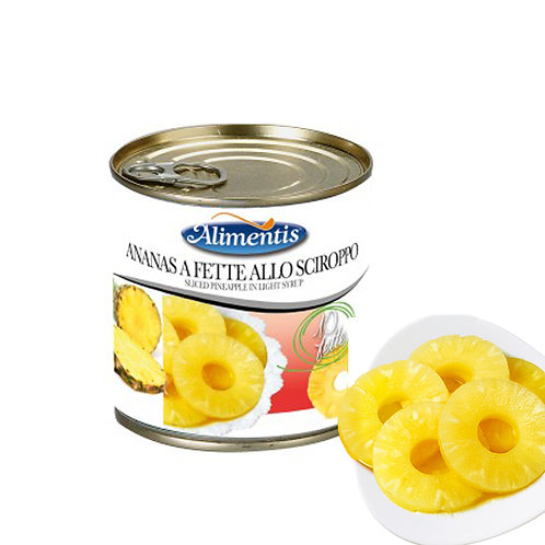 Pineapple Slices in Light Syrup - ALIMENTIS - 3.035kg