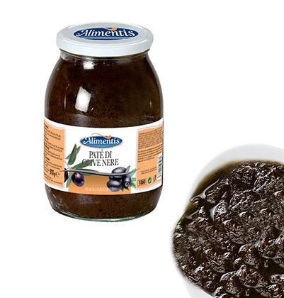 Black Olives Pate - Gluten Free - ALIMENTIS - 910 gr