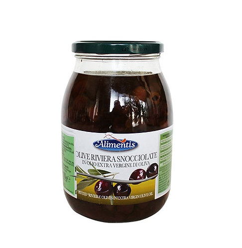 Pitted Olives in Extra Virgin Olive Oil 910gr
