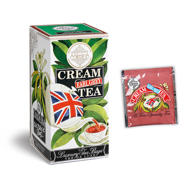 Cream Earl Grey Tea.