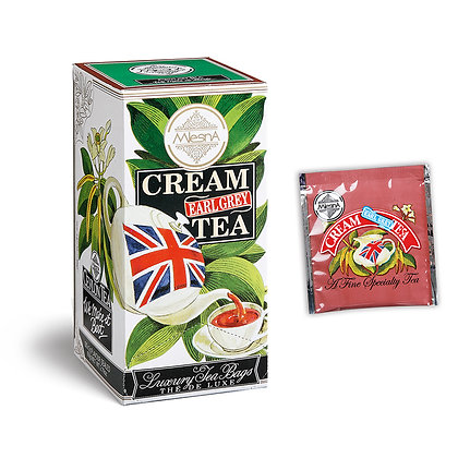 Cream Earl Grey Tea 30x2gr