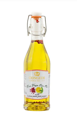 "Extra Virgin Olive Oil ""Lemon, Mint & Pink Pepper"""" Flavoured - 250ml"
