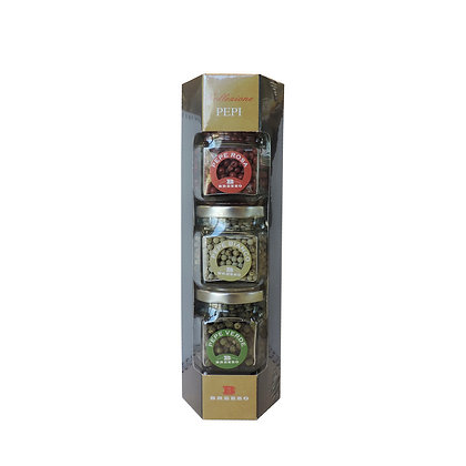 Pepper Trio (White, Green, Pink) 105gr