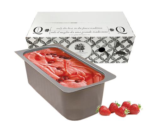 Strawberry Gelato Ice Cream - 5lt