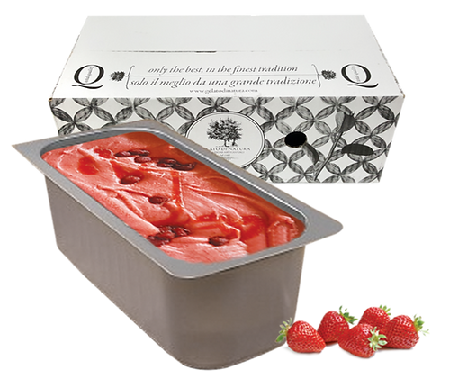 Strawberry Gelato Ice Cream - 5lt