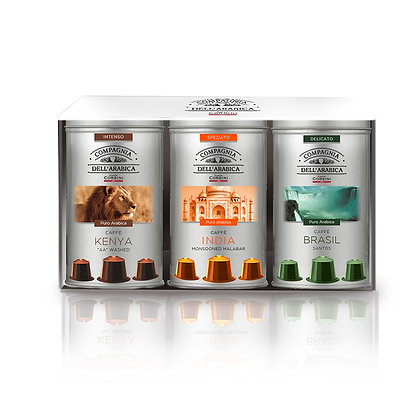 Gift Set 3 Assorted 10 X 5.2gr Capsules