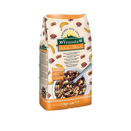 Muesli with Chocolate and Honey - 2.5 kg