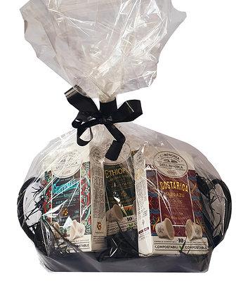 Collection Puro Arabica Coffee Ethiopia - Costa Rica -Guatemala Gift Hamper